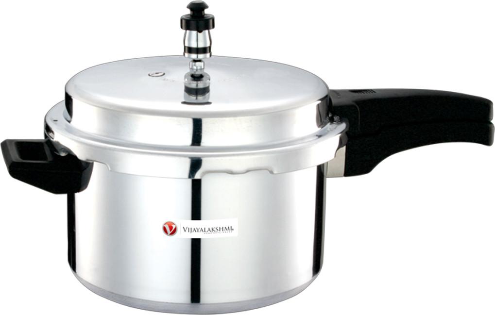 Vijayalakshmi Aluminium 7.5 L Pressure Cooker(Aluminium) Flipkart