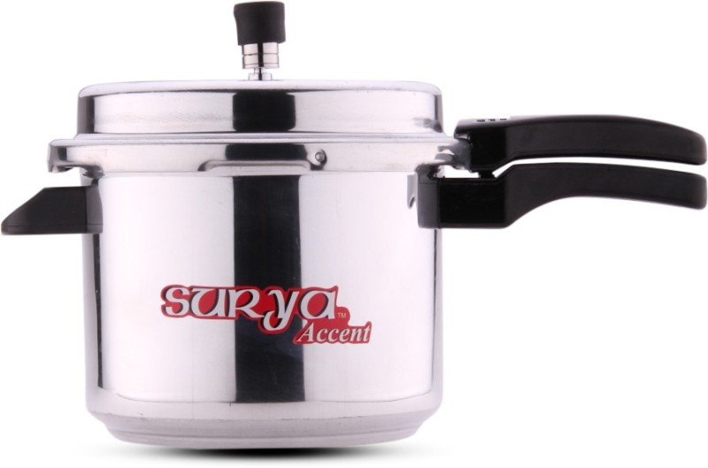 Surya Accent Popular 5 L Pressure Cooker(Induction Bottom, Aluminium)