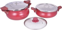 Pigeon All in one super cooker value pack 3 L, 5 L Pressure Cooker