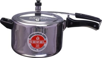 Saral-FS00000036-Aluminium-5-L-Pressure-Cooker-(Inner-Lid)