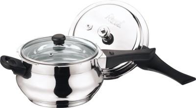 Apex Stainless Steel Popular Handi 5.5 L Pressure Cooker at flipkart