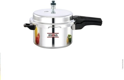 Moksh Aluminium 5 L Pressure Cooker (Induction Bottom,Outer Lid)