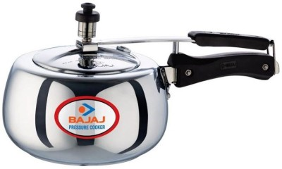 Bajaj Majesty Duo PCX 63D Handi 3 L Pressure Cooker(Induction Bottom, Aluminium)