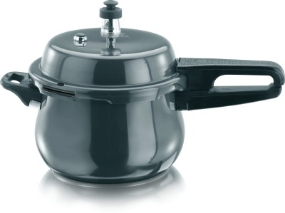 Garuda Nutra Hard Anodised 3.5 L Pressure Cooker (Induction Bottom,Outer Lid)