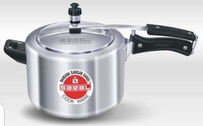 Saral FS00000293 5 L Pressure Cooker (Induction Bottom,Inner Lid)