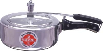 Saral FS00000155 Aluminium 3.5 L Pressure Cooker (Inner Lid)