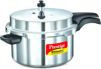 Prestige Deluxe Plus Aluminium 7.5 L Pressure Cooker (Induction Bottom, Outer Lid)