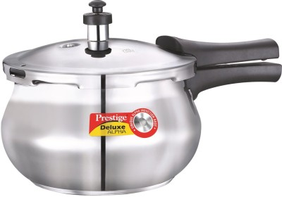 Prestige 20141 Stainless Steel 2 L Pressure Cooker (Outer Lid)