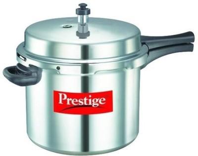 Prestige 10209 Aluminium 10 L Pressure Cooker (Induction Bottom,Outer Lid)