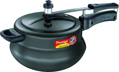 Prestige Nakshatra Plus HA Handi Aluminium 5 L Pressure Cooker (Induction Bottom, Inner Lid)
