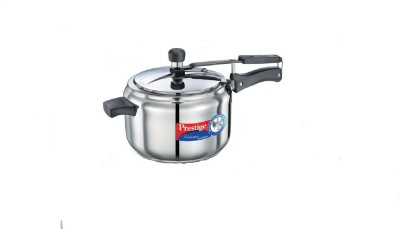 Prestige Nakshatra Alpha Stainless Steel 5 L Pressure Cooker (Induction Bottom, Inner Lid)