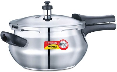 Prestige-Alpha-Handi-Stainless-Steel-4.4-L-Pressure-Cooker-(Induction-Bottom,Outer-Lid)