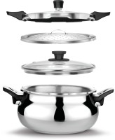 Pigeon All in One 3.7 L Pressure Cooker(Induction Bottom, Stainless Steel)