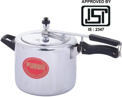 Puros ISI Marked Aluminium 5 L Pressure Cooker (Inner Lid)