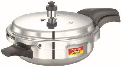 Prestige Delux Plus Jr Pan 3 L Pressure Pan(Induction Bottom, Aluminium)
