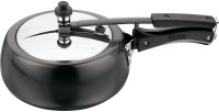 Kitchen Essentials Kalash Hard Anodised Inner Lid 3.5 L Pressure Cooker(Induction Bottom, Aluminium)