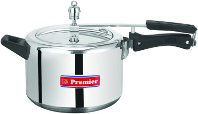 Premier Aluminium 5 L Pressure Cooker (Induction Bottom,Inner Lid)