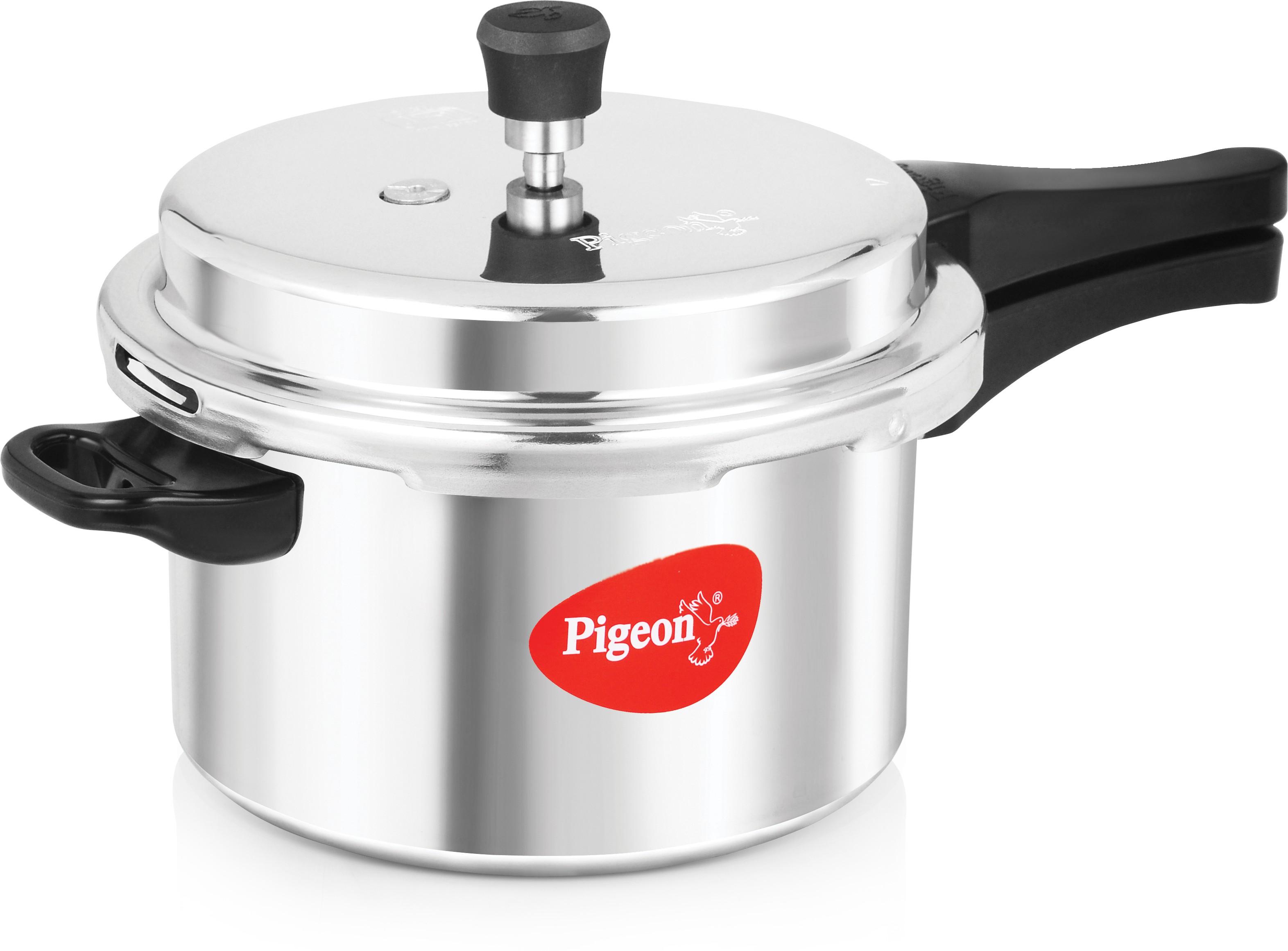 Pigeon Calida Deluxe 5 L Pressure Cooker Flipkart