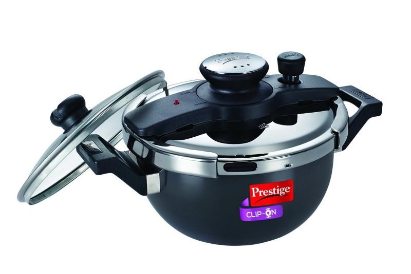 Prestige clip-on kadai 3.5 L Pressure Cooker