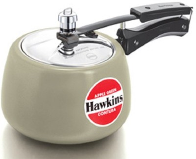 Hawkins Contura Apple Green 3 L Pressure Cooker