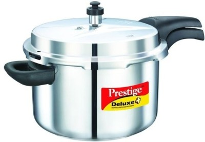 Prestige 20012 Stainless Steel 8 L Pressure Cooker (Induction Bottom,Outer Lid)