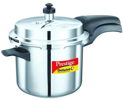 Prestige 20004 Stainless Steel 3.5 L Pressure Cooker (Induction Bottom,Outer Lid)