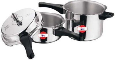 Apex Popular 2.0 L, 3.0 L Pressure Cooker & Pressure Pan