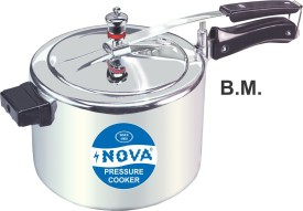 Nova N.P.C-3-3LT-B.M Aluminium 3 L Pressure Cooker (Inner Lid)