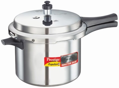 Prestige Popular Plus Aluminium 5 L Pressure Cooker (Induction Bottom, Outer Lid)