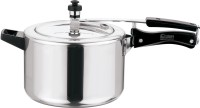 Kitchen Essentials Aluminium Inner Lid 5 L Pressure Cooker(Induction Bottom, Aluminium) Flipkart