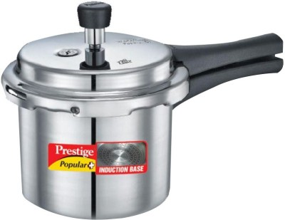 Prestige Popular plus 2 L Pressure Cooker(Induction Bottom, Aluminium)