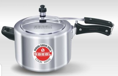 Saral FS00000245 Aluminium 3 L Pressure Cooker (Induction Bottom,Inner Lid)