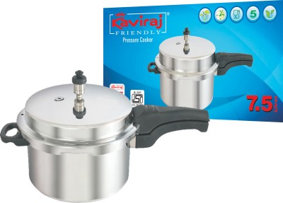 Kaviraj 7.5 L Pressure Cooker
