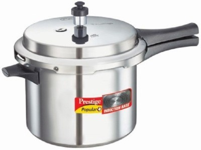 Prestige Popular Plus Aluminium 7.5 L Pressure Cooker (Induction Bottom, Outer Lid)