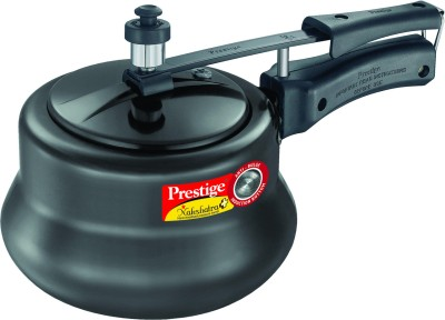 Prestige Nakshatra Plus HA Handi Aluminium 3 L Pressure Cooker (Induction Bottom, Inner Lid)