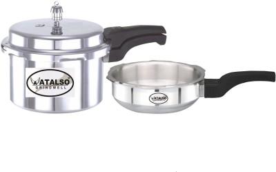 Atalso 3 L, 2 L Pressure Cooker & Pressure Pan(Induction Bottom, Aluminium)