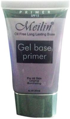 Meilin Gel Base Face ( Oil Free Long Lasting Base ) Primer  - 30 ml(Transparent)