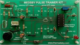 Medsby Assembled Single Sided Printed Circuit Board