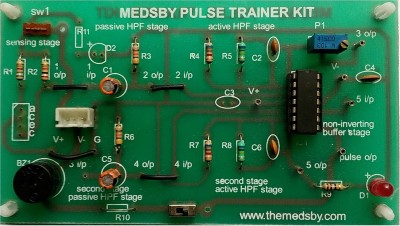Medsby Assembled Single Sided Printed Circuit Board(Pack of 1)