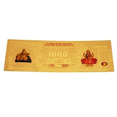 Sogani 1000 Rupees Gold-plated Printed Currency( )