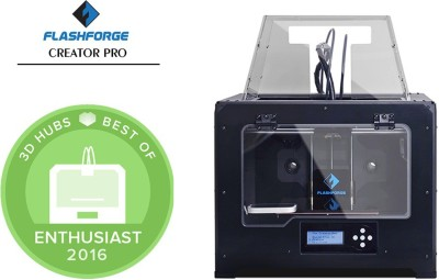 Flashforge Creator Pro Dual Extrusion 3D Printer Multi-function Printer