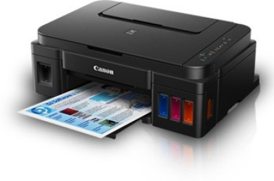 Canon Pixma Ink Tank G 3000 Multi-function Printer(Black)