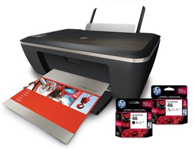 HP Deskjet Ink Advantage 2520hc All-in-One Printer(Black)