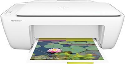 HP DeskJet 2132 All-in-One(F5S41D) Multi-function Printer(White)