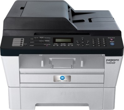 Konica Minolta Pagepro 1590MF Multi-function Printer(White, Grey)