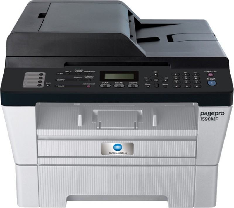 Konica Minolta Pagepro 1590MF Multi-function Printer(White, Grey)