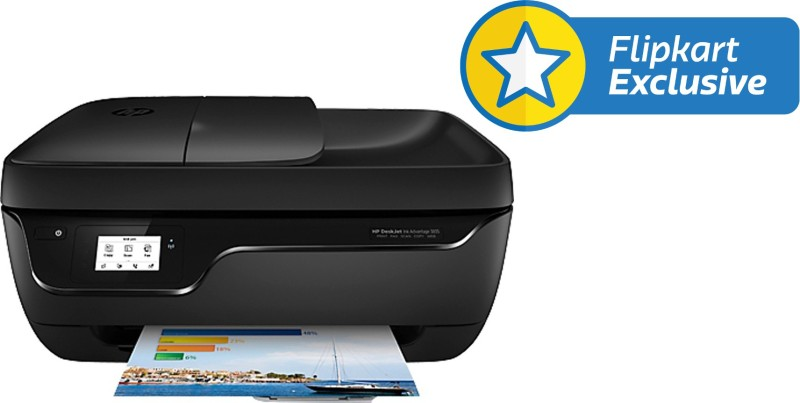 HP DeskJet Ink Advantage 3835 All-in-One Multi-function Printer(Black)