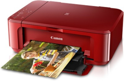 Canon PIXMA MG3670 (red) Wireless Photo All-In-One with Duplex and Cloud Printing Multi-function Printer