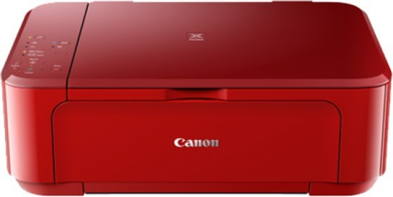 Canon PIXMA MG3670 Wireless Photo All-In-One with Duplex and Cloud Printing Multi-function Printer(Red)