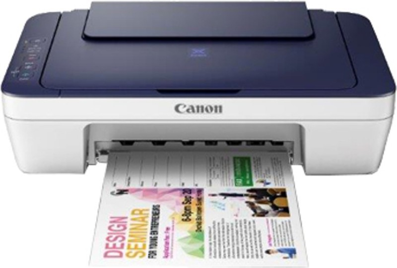 Canon PIXMA E417 Multi-function Printer(Blue and White)